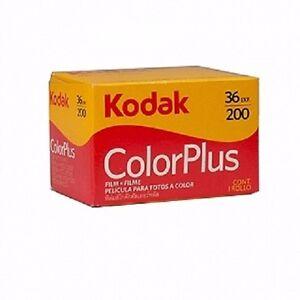 5-x-NEW-KODAK-ColorPlus-Color-Plus-200-35mm-36Exp-Color-Negative-Film