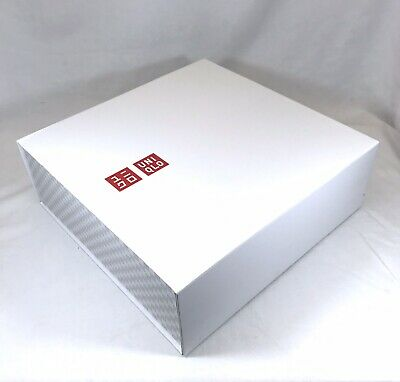 Authentic Empty Uniqlo Box Shabby Chic Storage Gift Box Ebay