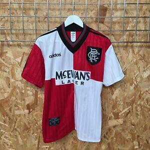 Rangers Adidas Away Shirt 1995/1996 - M MEDIUM - Top Kit Jersey VTG VGC GENUINE