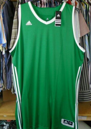 Adidas E Kit 3.0 Green Basketball Débardeur Shirt Jersey Training Gym Top