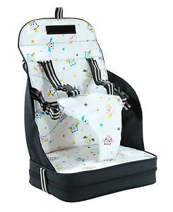 VENTURE-Travel-Booster-Seat-High-Chair-Highchair-With-5-Point-Harness-NEW
