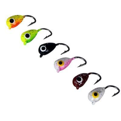 75mm Soft Bait Fishing Lures Lead Jig Head Fish Tackle SALE Sharp Hook JHOT R0Y9