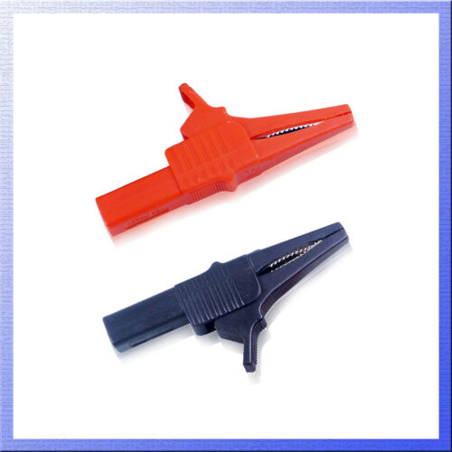 Alligator Clip for Banana Plug Test Cable Probes Insulate Clamp AU seller