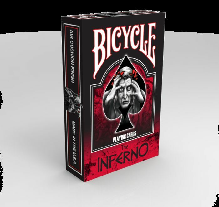 Playing voitureds Bicycle the Inferno, Poker  Taille Playing voitureds  sortie de vente pas cher en ligne