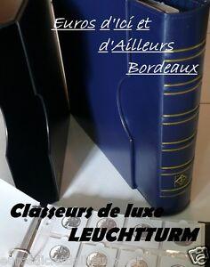CLASSEUR / Reliure GRANDE Classic - Pour vos monnaies,billets,cpa...euros francs
