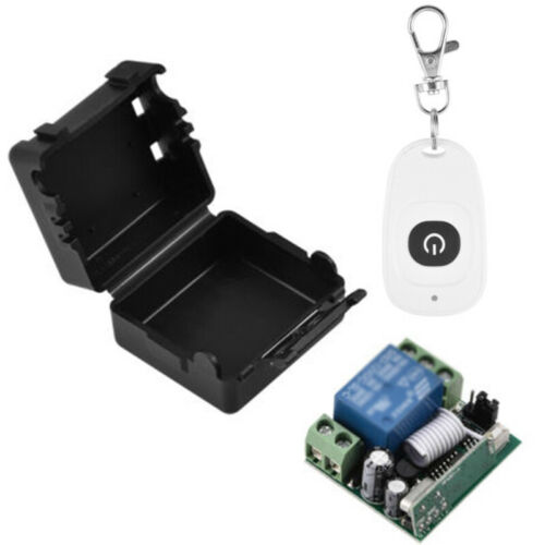 DC 12V 1CH Relay Receiver RF Transmitter 433Mhz Wireless Remote Control Switch