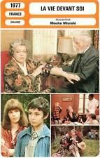 FICHE CINEMA : LA VIE DEVANT SOI - Signoret,Bat-Adam,Mizrahi 1977 Madame Rosa