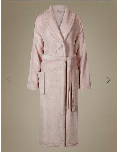 M /& S Collection Soft Rosa Shimmer Vestaglia