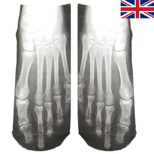3D Skull Bones Socks Novelty Socks for Mens Funny Socks Ideas~Hot