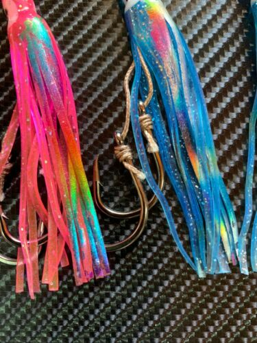 "4x 4/"" Inchiku Stinger Hooks Slow Jig Fishing Lure Jigs Jigging Bottom Ship Squid"