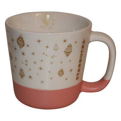 Starbucks Pink Holiday Mug Pott Tasse Kaffeetasse Weihnachten Xmas Coffee Cup