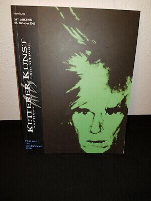 2 Kataloge - Ketterer Kunstauktion - ZeitgenÖssische Kunst + Modern Art Um Der Bequemlichkeit Des Volkes Zu Entsprechen