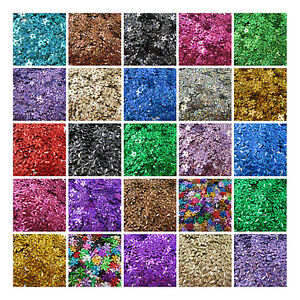 10mm-amp-15mm-HOLOGRAPHIC-FLORAL-SEQUINS-30-COLOURS-FLOWER-CONFETTI-SEWING