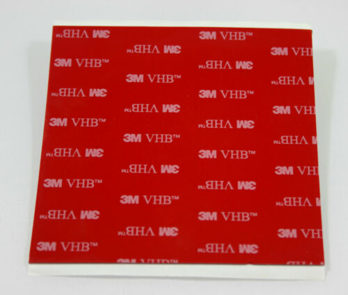 3M™ VHB 5925 100 x 100mm Black Acrylic Foam Double Sided Attachment 0.64mm Thick
