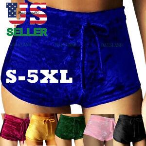 Women-Shorts-Running-Yoga-Gym-Pants-Sports-Workout-Beach-High-Waist-Mini-Short