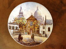 1981 L' Eglise Saint Pierre by Louis Dali Premiere Edition Porcelain Plate BA460