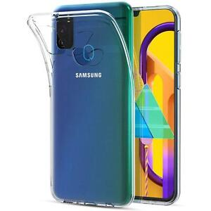 Handy-Case-fuer-Samsung-Galaxy-M31-Huelle-Transparent-Slim-Tasche-Handyhuelle-Cover