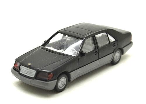 Limousine-Noir w140 Wiking 158//1 MERCEDES-BENZ 500 SEL