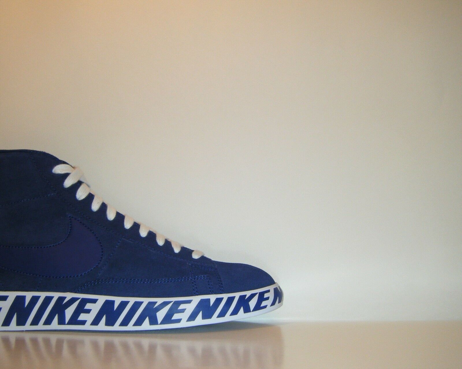2017 Nike Blazer Mid Supreme Promo Sample Sz. 9 SB NikeLab bluee White PE Off OG