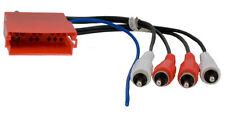 MINI ISO Buchse Vorverstärker Adapter Cinch BOSE AUDI