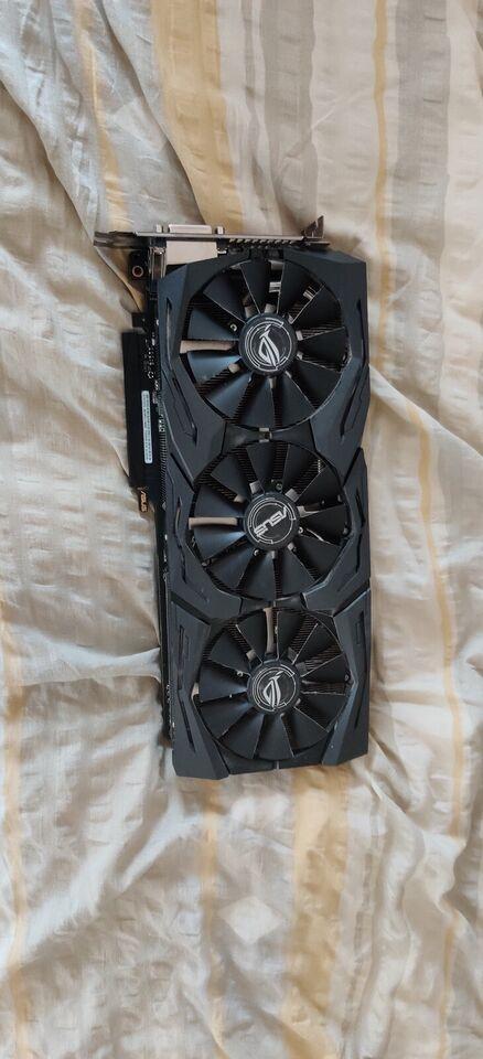 GeForce GTX 1070 Asus 1070, 8 GB RAM, God