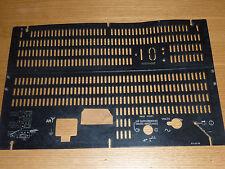 VINTAGE ancien PANNEAU plaque TSF alt old RADIO PHILIPS  FK 419.79 tube à lampe