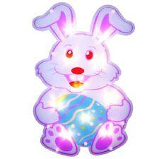 Lighted Easter Bunny Rabbit Window/Wall/Door Decor (New in Box)