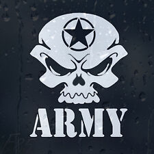 Ammo Army Star Skull Infinite Marine Car Decal Vinyl Sticker For Bumper Window