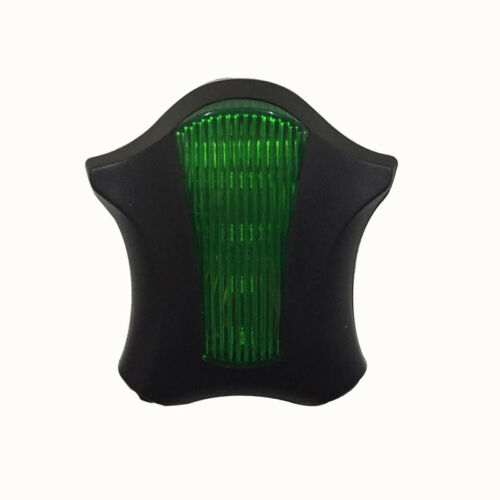 Bicycle Rear Tail Safety Warning 5 LED 2 Laser Flashing Lamp Light UK
