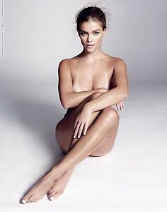 Image Is Loading NINA AGDAL Nude POSTER 24 X 36 Inches