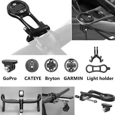 Accurato Estensione Stelo Bici Mount Holder Staffa Adatta Per Garmin Gps Gopro Cateye Luce-