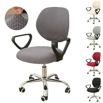 Universal Spandex Stretch Slipcover Split Computer Office Chair Cover Seat Cover
