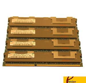 NOT FOR PC//MAC PC3-10600 ECC REGISTERED for HP ProLiant DL320 G6 4x4GB 16GB