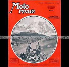 MOTO REVUE N°1204 NSU 200 SUPER-LUX RENE GILLET PUCH NSU KONSUL BMW R 35 1954