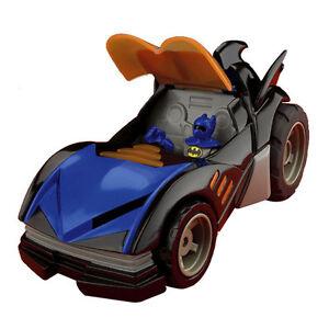 Fisher Price Dc Comics Batmobile Car Toy Batman Figure With Sound