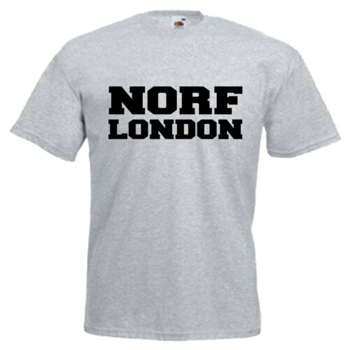 3XL North Norf London Adults Mens T Shirt 12 Colours  Size S