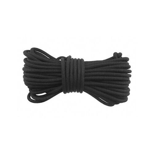 6mm Schwarz Extra Stark Elastisch Gummizug Seil Gummiseil Fessel