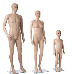 Schaufensterpuppe-Schaufensterfigur-Schneiderpuppe-weiblich-Male-Mannequin-Puppe