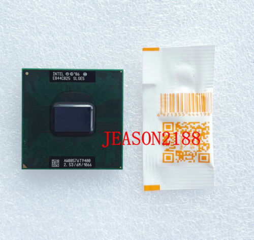 1066 notebook Processor 6 M 5PCS Intel core 2 duo T9400 SLGE5//SLB46 2.53Ghz