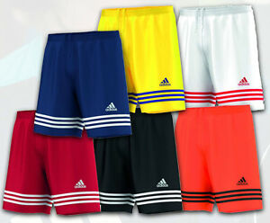 Da-Uomo-ragazzo-ADIDAS-CLIMALITE-SPORTS-FOOTBALL-GYM-TRAINING-Pantaloncini-S-M-L-XL-XXL