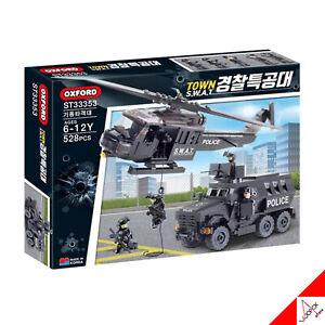 Oxford SWAT Stadt Mobile Strike Force Ziegelstein Baustein Montage Kit - 528pcs