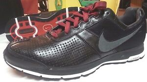 2007 Nike Men s Zoom RS Running Shoe men sz 12 black grey white ... 0f993d0a7cbf