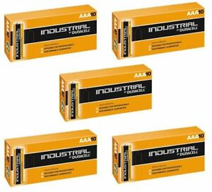 50-X-Duracell-AAA-Industrial-MN2400-Battery-Alkaline-Replaces-Procell-Exp-2023