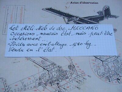 Affidabile Lot Meccano = Livrets Vintages Meli-melo - Petit Prix Sii Amichevole In Uso