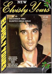 ELVISLY-YOURS-Magazine-December-1983-Edition-Good