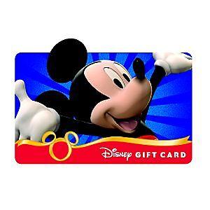 $25 Disney Gift Card for sale online   eBay