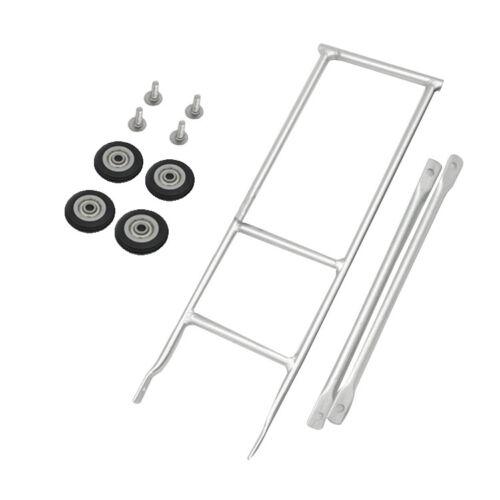 Bicycle Rack for Brompton Bike cargo racks with 4pcs 50mm Easy Wheel
