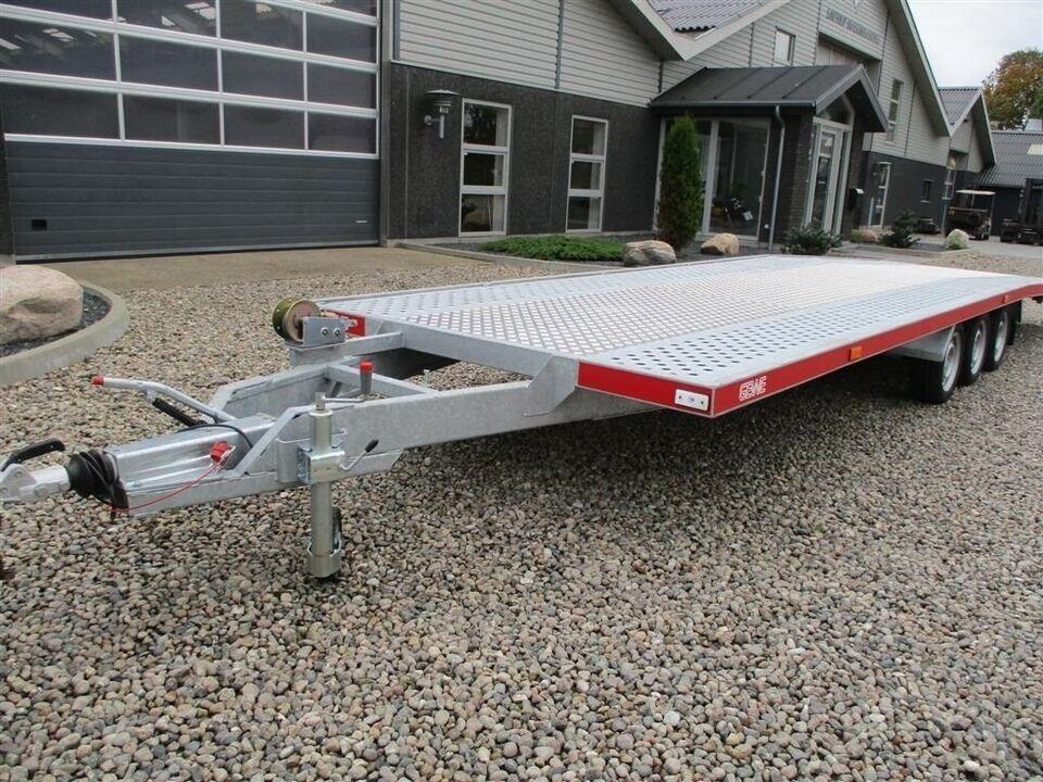 Trailer, Gewe B3500GV Autotrailer til 2 biler, lastevne