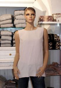 New 38 Pietre rosè Blush di Silk seta Connection levigate top Nice Gr chiara 65xtq1wFn