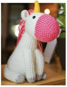 Free Crochet Unicorn Pattern - Red Ted Art - Make crafting with ... | 300x233